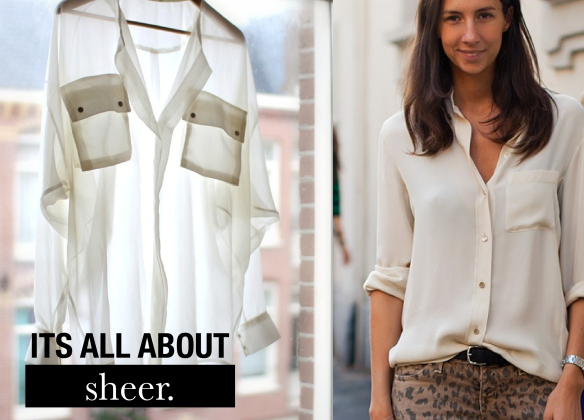 What To Wear Under A Sheer Blouse For Work 59